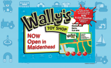 Wally's Toy Shop Website