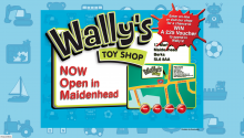 Wally's Toy Shop Home